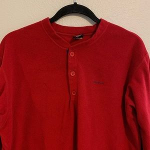 Patagonia fleece pullover shirt L